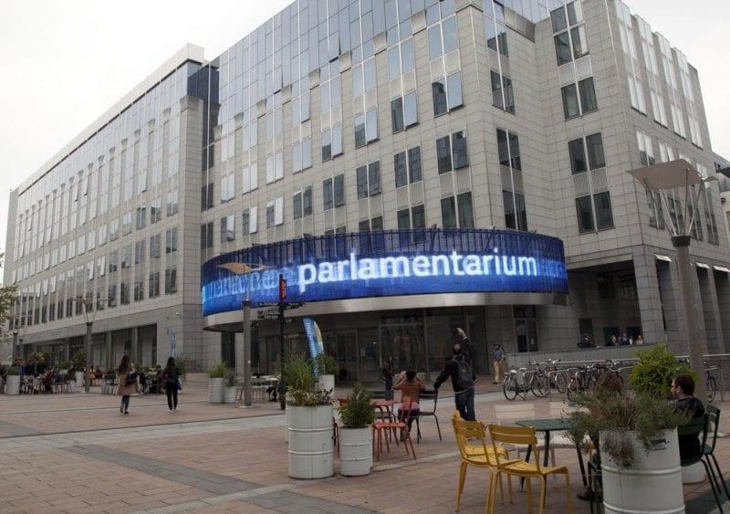 Entrada al Parlamentarium