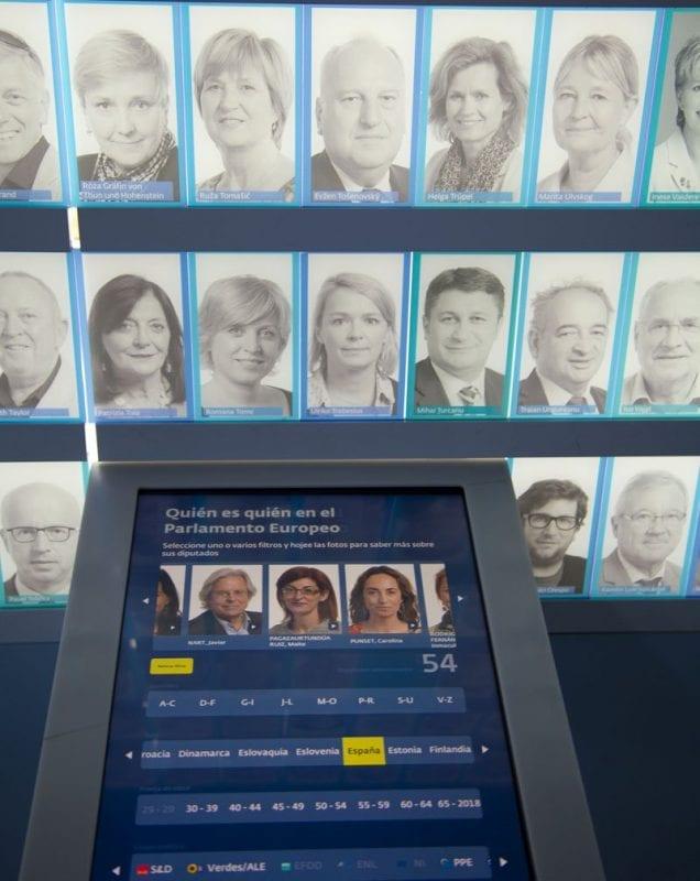 Eurodiputados españoles en el Parlamento Europeo