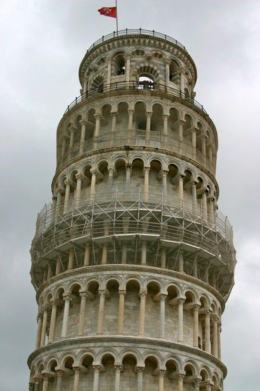 Pisa está a unos 90 kilómetros de Florencia