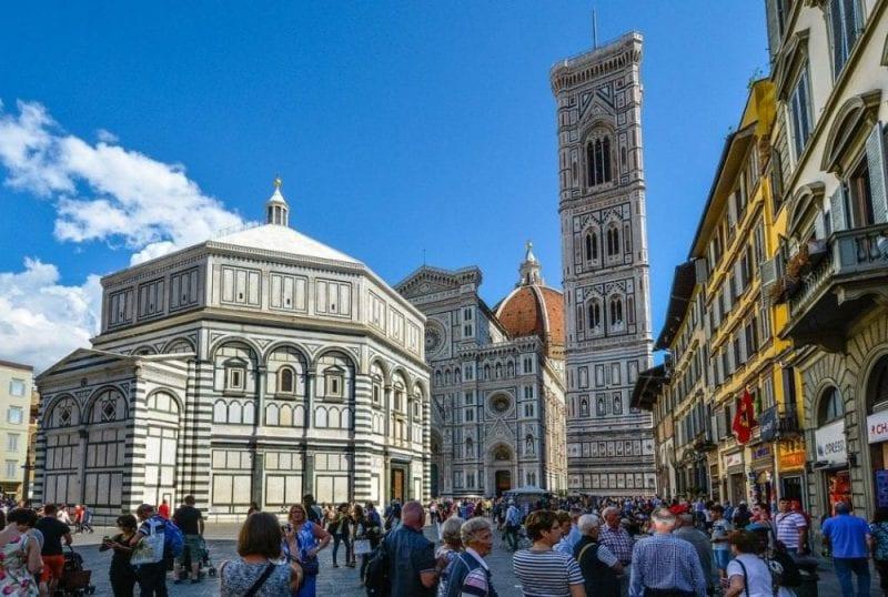 Florencia es una de las ciudades más monumentales del mundo