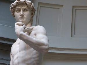 El David de Miguel Ángel, un icono para Florencia
