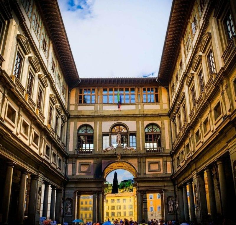 Las galerías Uffizi, visita imprescindible