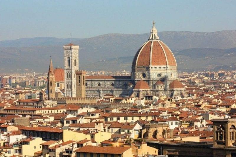 La cúpula de la catedral, un tesoro para Florencia