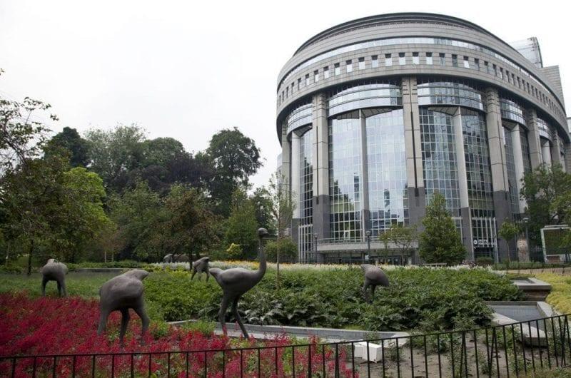 El hemiciclo del Parlamento Europeo está abierto al público
