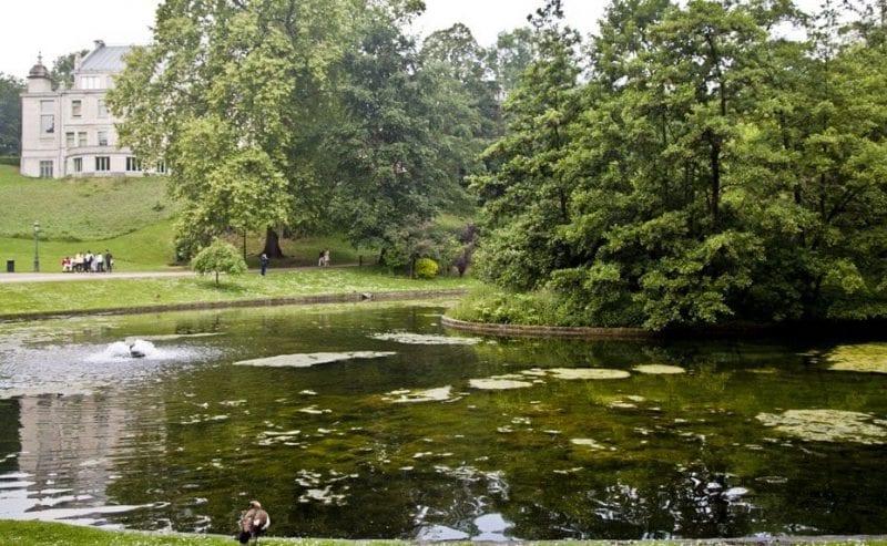 El parque Leopold, un oasis en el barrio Europeo