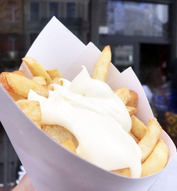 Las patatas de Maison Antoine, las mejores de Bruselas