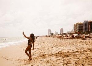 Selfie en Miami Beach