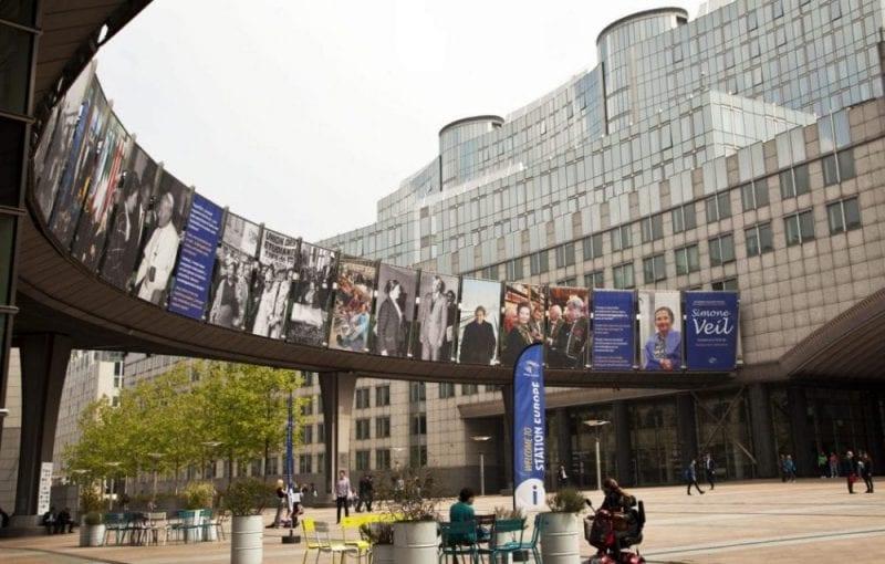 El Agora Simone Veil es el corazón del Barrio Europeo