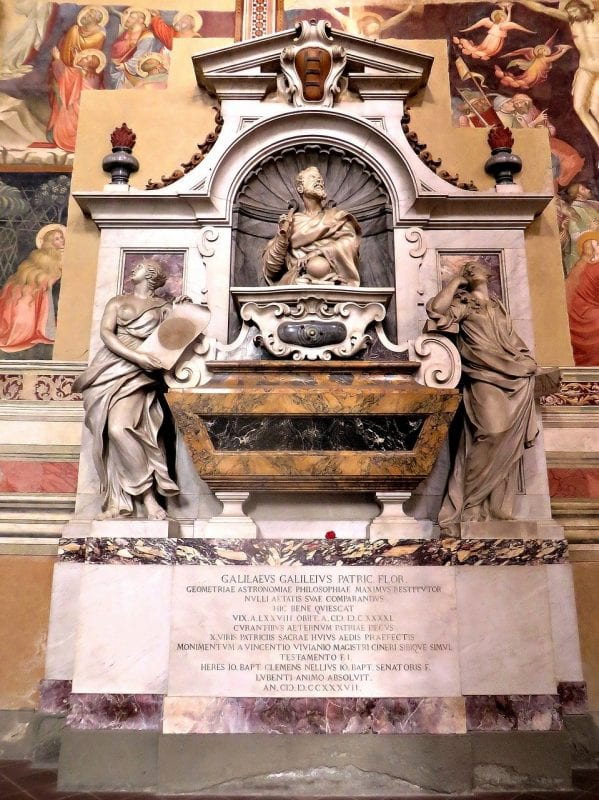 Tumba de Galileo Galilei