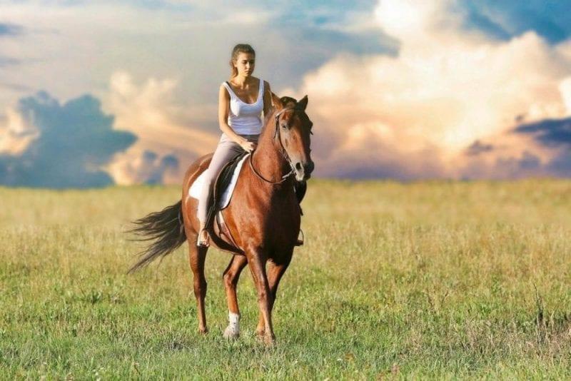 Cabalgar da sensación de libertad