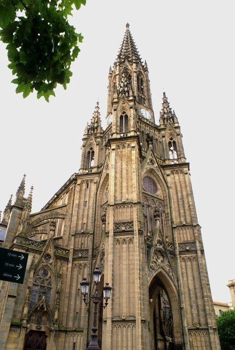 La entrada a la catedral de San Sebastián no tiene coste