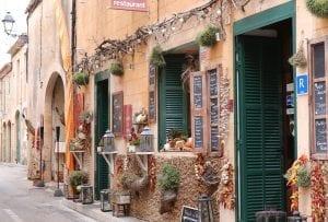 Detalle del casco histórico de Palma de Mallorca
