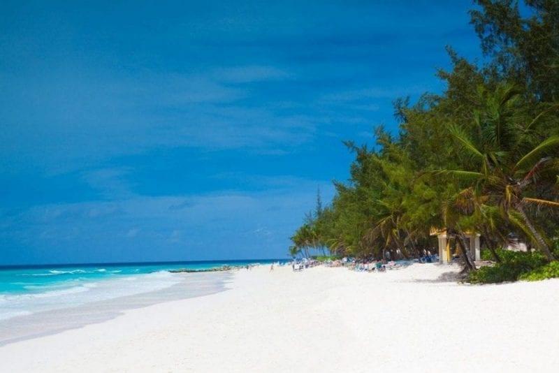 La playa de Varadero en Cuba