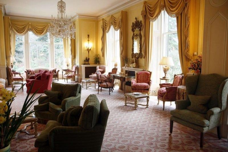 Interior del hotel Inverlochy