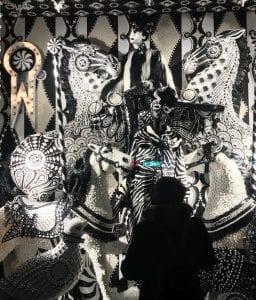 Escaparate navideños de Bergdorf Goodman en la Quinta Avenida