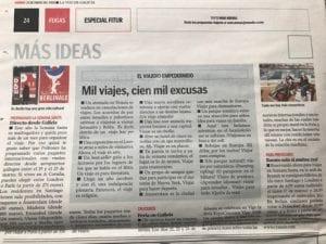 """El """"Viajero Empedernido"""" en papel"""