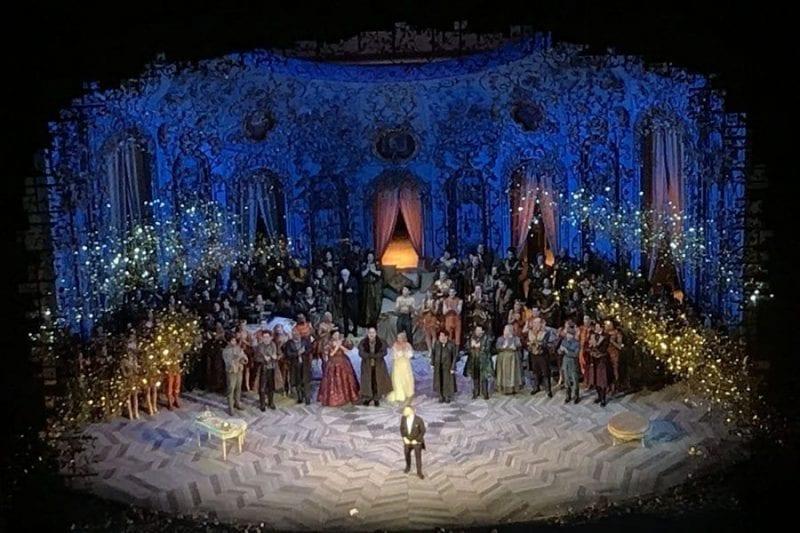 Instante de una ópera en el MET