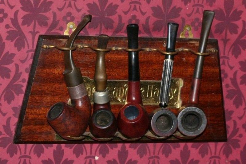 Holmes era un gran fumador de pipa