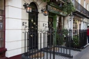 Sherlock Holmes vivía en el 221B
