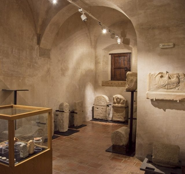 Interior del Museo Cárcel Real de Coria