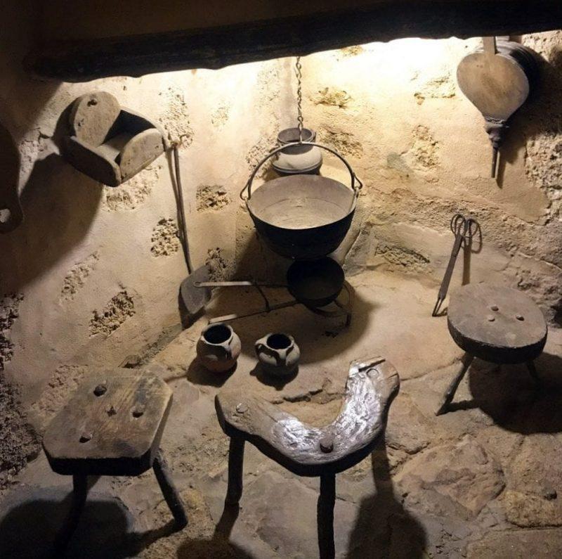 Cocina del monasterio del Palancar