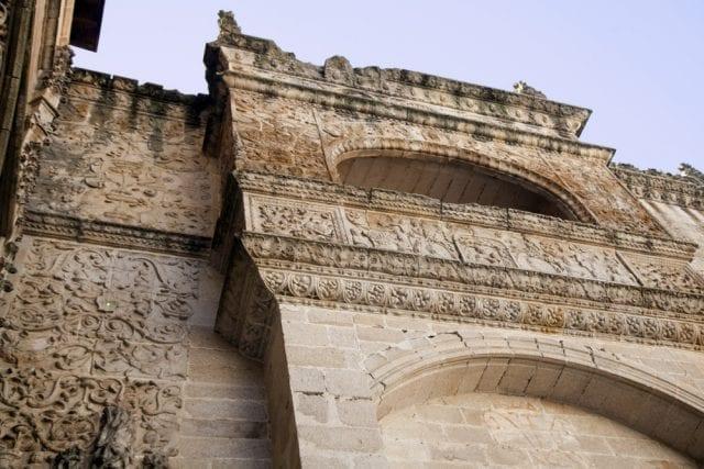 En balcón de las reliquias actualmente no tiene uso