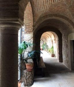 El monasterio nuevo data del siglo XVIII