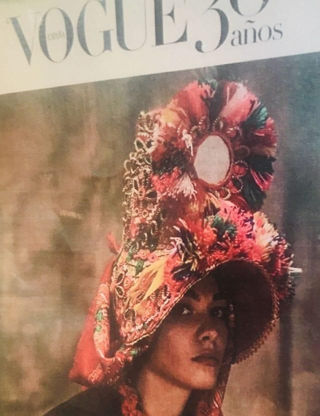 La gorra de Montehermoso fue portada de Voguee
