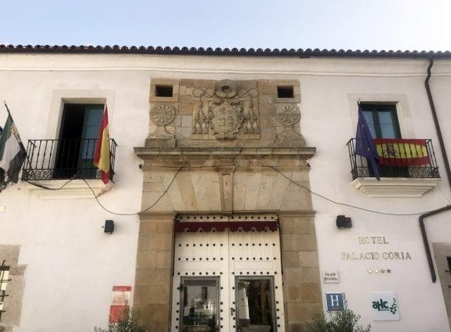 El hotel Palacio de Coria tiene cuatro estrellas