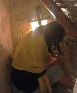 Así dormía San Pedro de Alcántara en su celda del monasterio