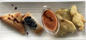 Detalle de un plato en el restaurante El Palancar