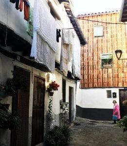 Detalle de la calle Rabilero
