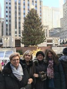 Foto de navidad en Nueva York