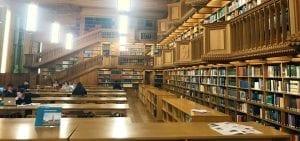 Salón de lectura de la Biblioteca