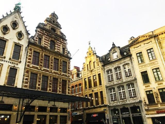 Casas alrededor del Ayuntamiento