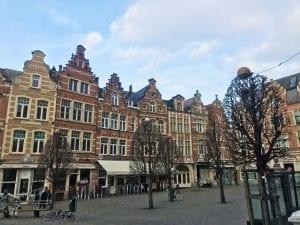 Detalle de la Oude Markt