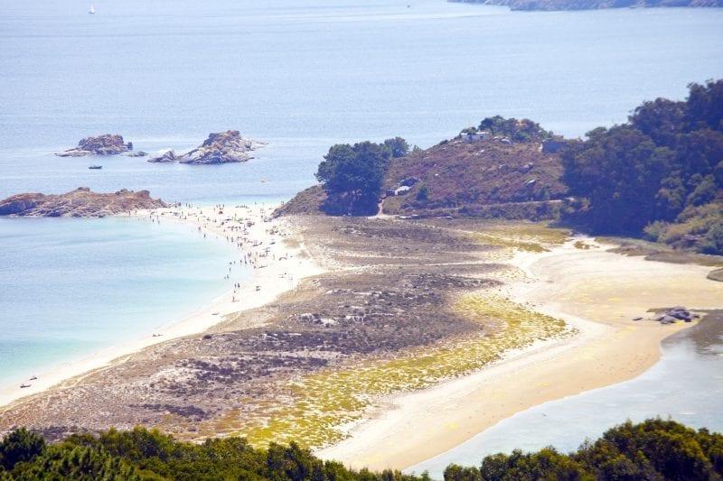La playa de Rodas, en las Islas Cies, la más bonita del mundo