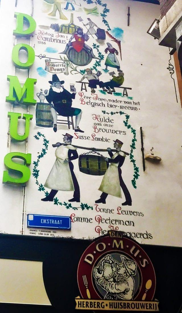 En el restaurante Domus elabora su propia cerveza