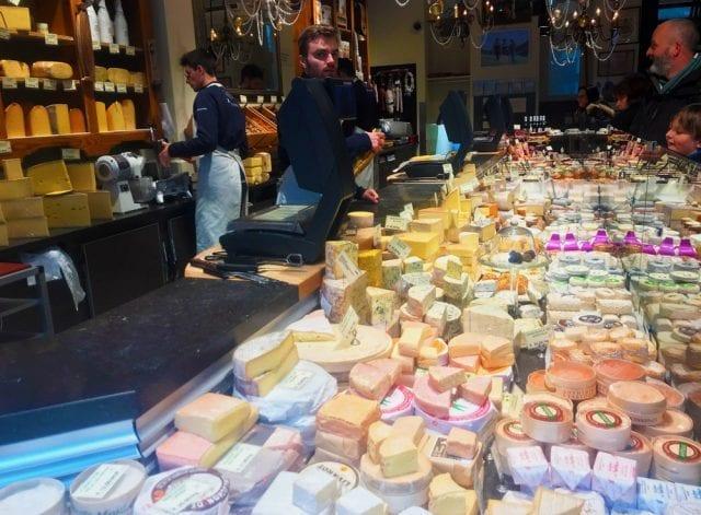 Tienda de quesos en Mechelsestraat.