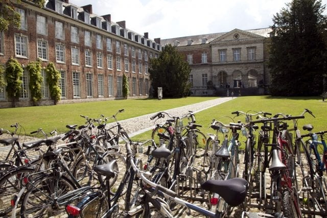 El campus está disperso por toda la ciudad