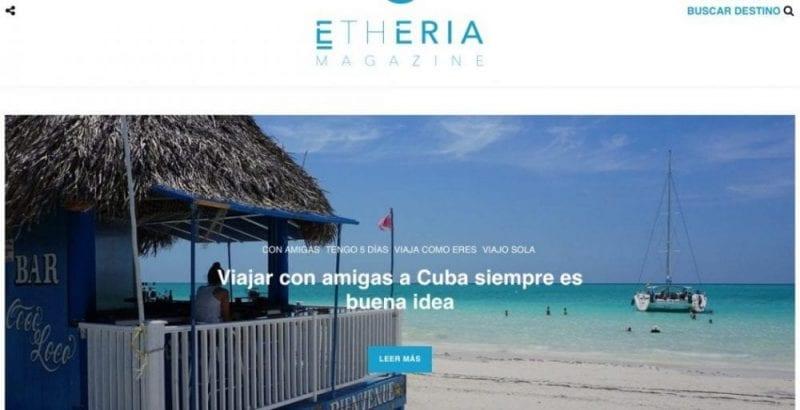 Etheria Magazine, viajes para mujeres inquietas