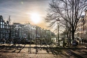 Amsterdam es una ciudad muy fotogénica