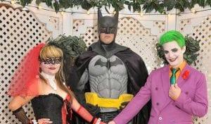 Boda con super héroes en las Vegas