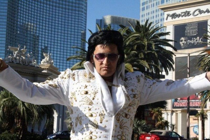 Elvis, el testigo de boda más demandado en Las Vegas