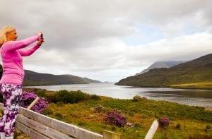 Panorámica del fiordo de Killary
