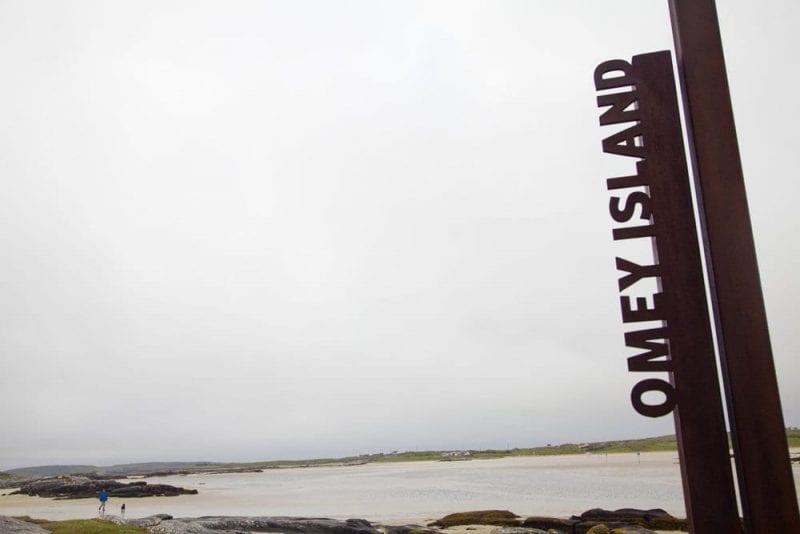 Llegada a Omey Island