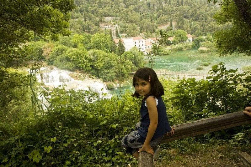 Krka tiene patrimonio natural y arquitectónico