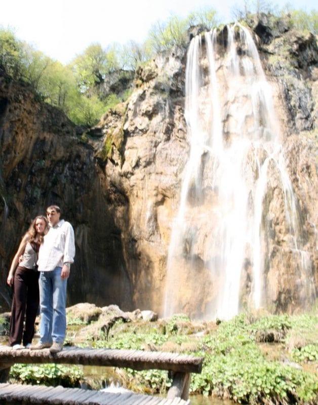 La gran caída de Slap, lla cascada más fotografiada de Plitvice