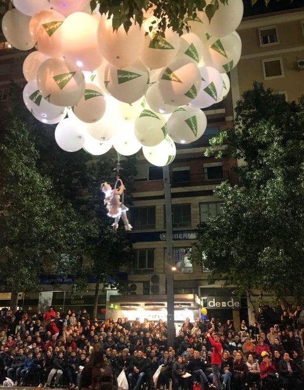 El Entierro de la Sardina es una fiesta multitudinaria