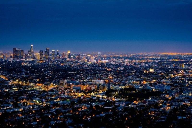 Los Ángeles es una ciudad muy extensa